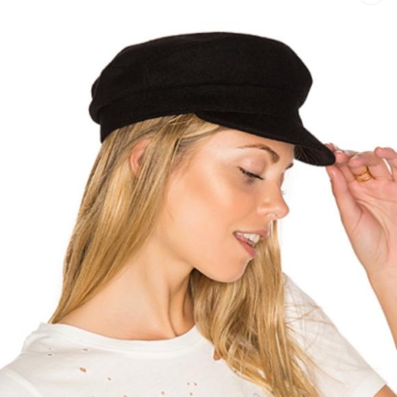 Mattie Hat in Black Janessa Leon bPneicZ